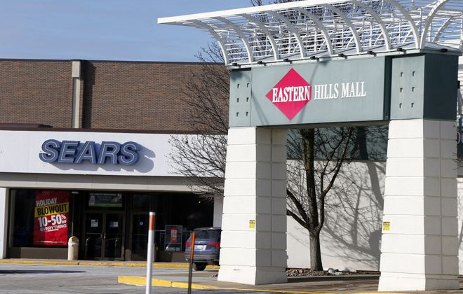 The face of retail is changing at the Eastern Hills Mall, which could be repurposed as a town center. (Mark Mulville/News file photo)