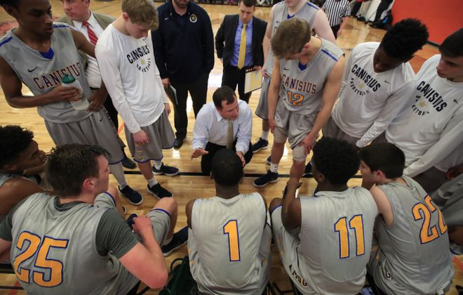 Canisius reclaimed the No. 1 spot in The Buffalo News' large schools poll following its 3-0 week with wins over Park, Aquinas and Bishop Timon-St. Jude. (Harry Scull Jr./Buffalo News)