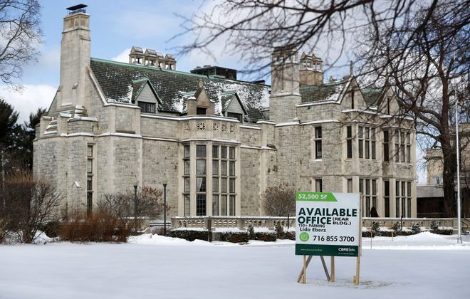 BestSelf purchased the rear portion of the former Clement Mansion property  on Delaware. (Mark Mulville/News file photo)