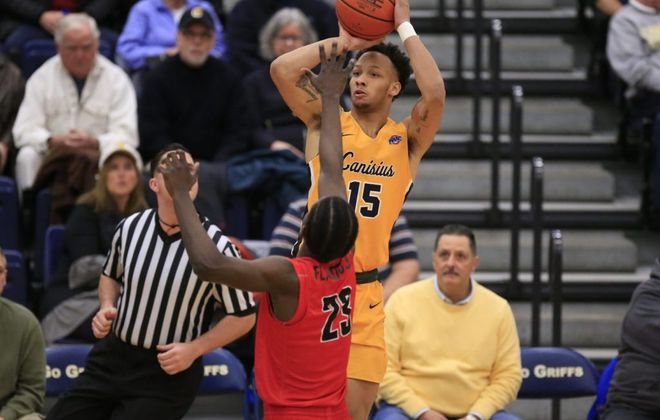 Canisius guard Takal Molson was a first-team All-MAAC men's basketball selection.  (News file photo)