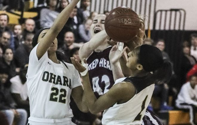 Cardinal O'Hara and Sacred Heart are the top two seeds in the Monsignor Martin girls basketball tournament for the large schools.  (James P. McCoy / Buffalo News)