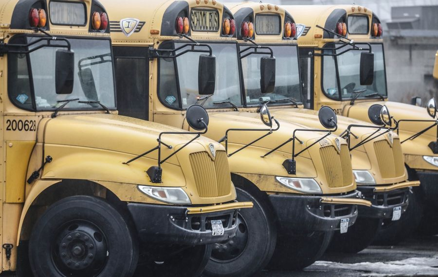 School bus drivers in Buffalo will get paid more in a bid to eliminate shortages that have compromised service. (Derek Gee/News file photo)
