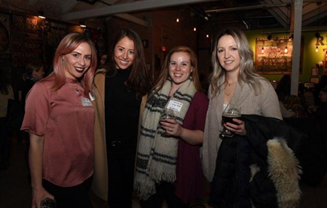 Smiles at Buffalo Boss Babes Meet-Up