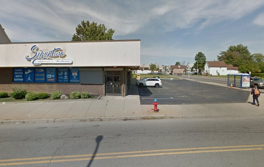 A retail expansion is planned for 592 Walden Ave. in Buffalo. (Google Maps)