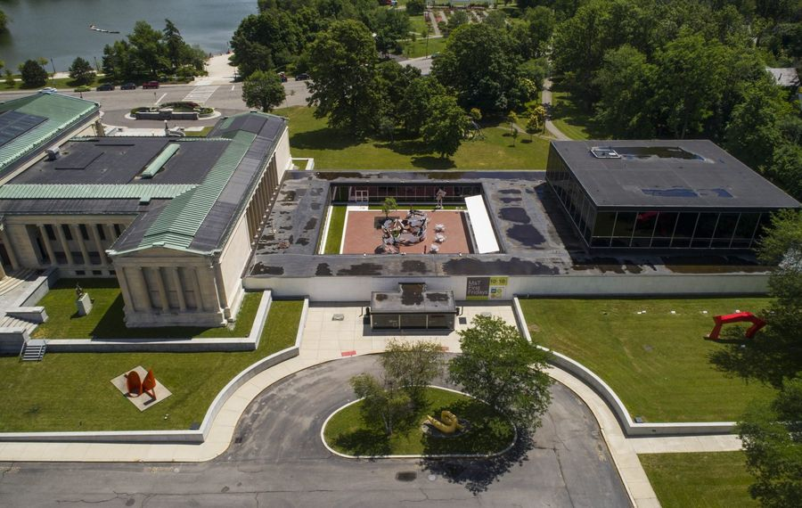 The Albright-Knox Art Gallery, poised for a major expansion, has attracted a young and increasingly diverse audience in recent years. (Derek Gee/News file photo)