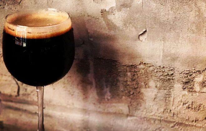 Brickyard's Yes Dear is a new milk stout produced by the Lewiston brewery. (via Brickyard)