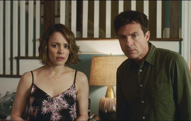 """Rachel McAdams and Jason Bateman star in """"Game Night."""" (Photo courtesy Warner Bros. Pictures)"""