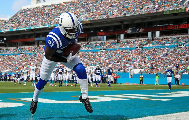 Former Indianapolis Colts cornerback Vontae Davis has agreed to a contract with the Buffalo Bills. (Getty Images)