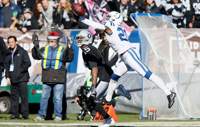 New Bills cornerback Vontae Davis hopes to return to the form that made him a two-time Pro Bowler with the Indianapolis Colts. (Getty Images)
