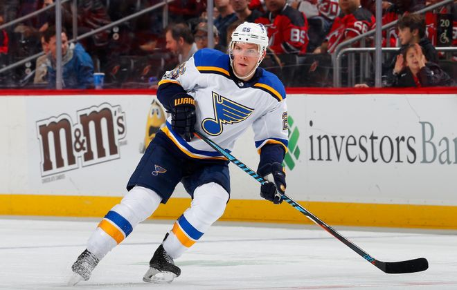 Paul Stastny had 12 goals and 40 points in 63 games with St. Louis this season. (Getty Images)