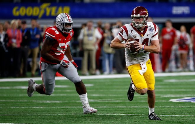 Sam Darnold will be one of the top quarterbacks drafted. (Getty Images)