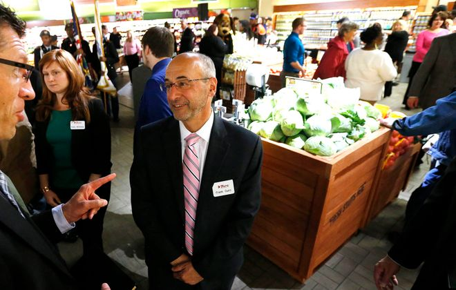 Frank Curci, chairman and CEO of Tops Markets, would get a bonus under a plan proposed by the bankrupt supermarket company. (Derek Gee/News file photo)