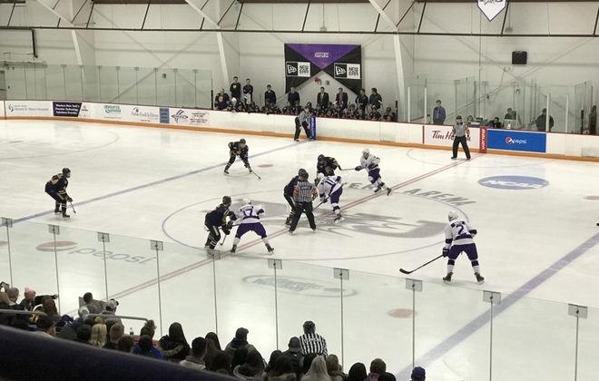 Niagara hockey defeated Canisius for the second time in three nights on Saturday at Dwyer Arena. (News file photo)