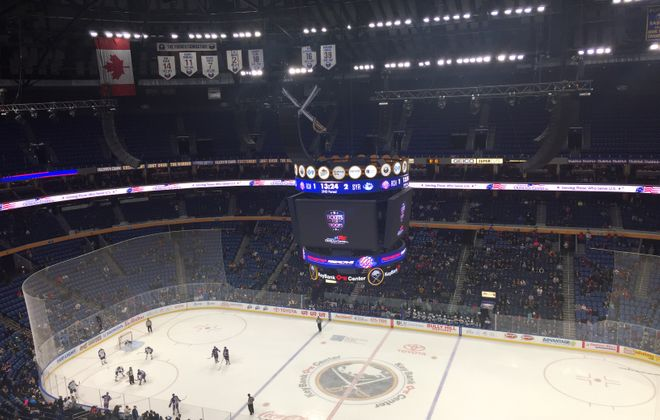 Rochester played in KeyBank Center for the sixth straight season.