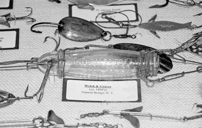 Antique fishing tackle show