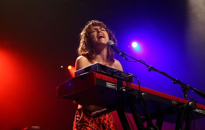"""Joan Wasser of Joan As Police Woman: Jeff Miers is in love with her new album, """"Damned devotion"""". (Photo by Michael Loccisano/Getty Images)"""