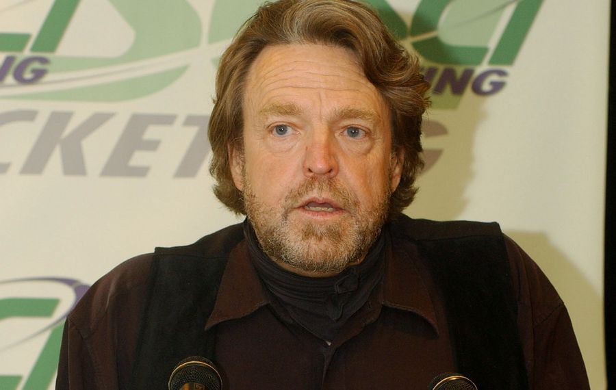 Grateful Dead lyricist and internet free speech activist John Perry Barlow died on Feb. 8 at the age of 70.  (Photo by C. Taylor Crothers/Getty Images)