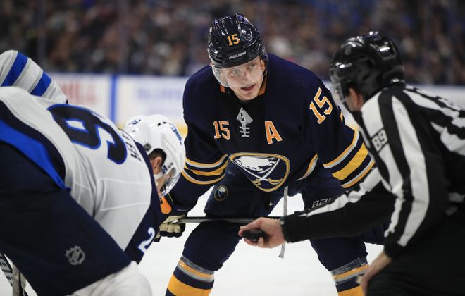 Jack Eichel has worn an alternate captain letter in recent years. (Harry Scull Jr./News file photo)