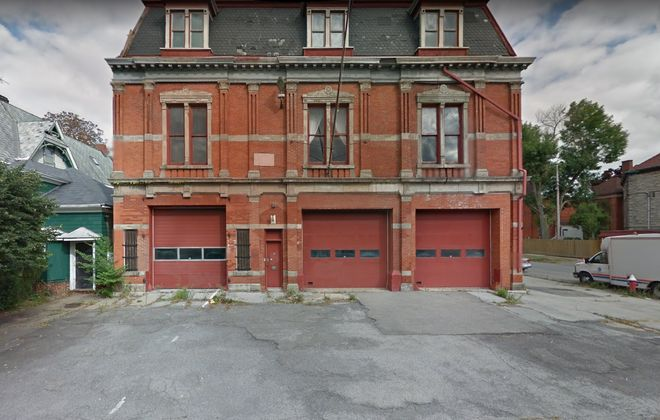 The Jersey Street Firehouse, built in 1875 at 310 Jersey St., was added to the National Register of Historic Places in 2011. (Google Maps)