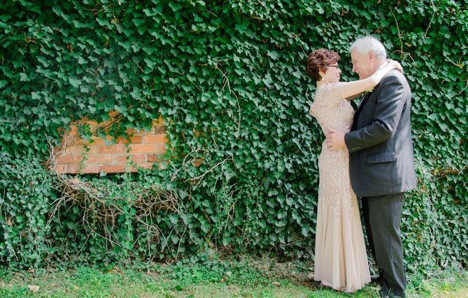 Sue & Mike tie the knot after two decades of dating