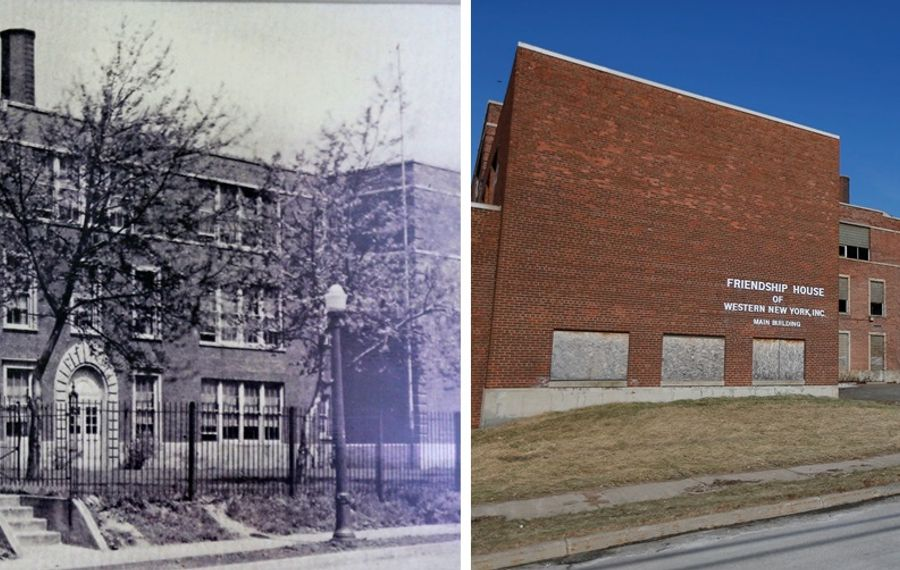 New Lincoln Elementary School was demolished this summer, but costly  soil remediation remains undone. (Robert Kirkham/Buffalo News)