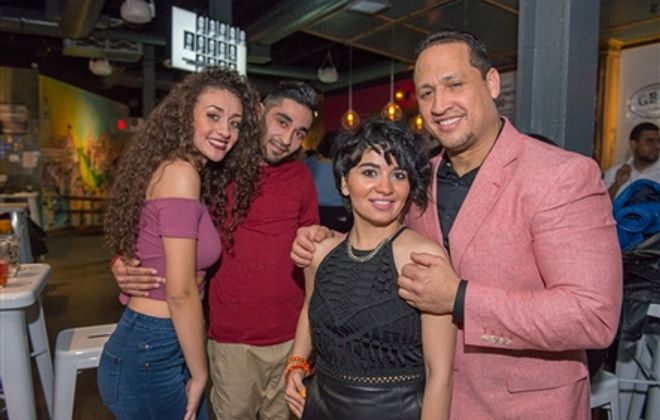 Smiles at Sabor Latino Special Edition in EXPO