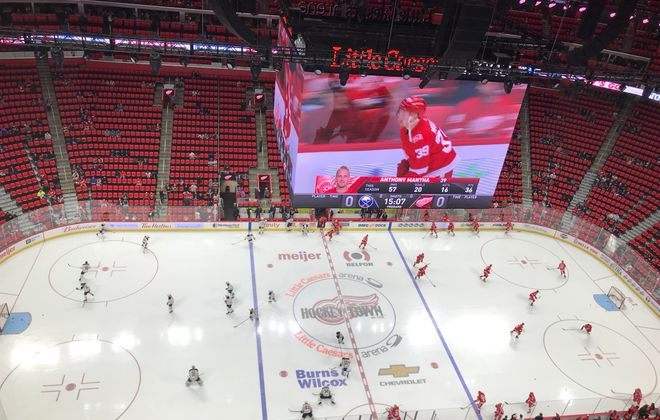 Live Coverage: Buffalo Sabres at Detroit Red Wings