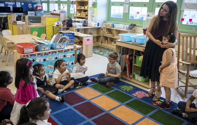 The City of Tonawanda School District will begin registration for universal prekindergarten classes. (Edu Bayer/The New York Times file photo)