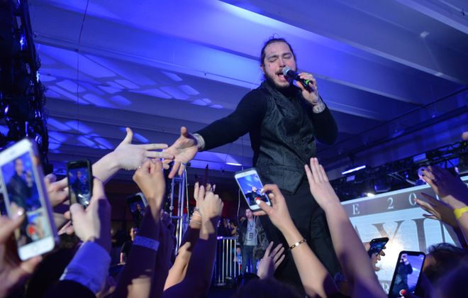 Post Malone will play at Darien Lake. (Getty Images)