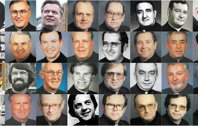 Some of the Catholic priests who served in the Buffalo Diocese and were accused of molesting children.