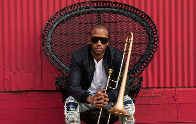 Trombone Shorty will be in concert at Asbury Hall at Babeville.
