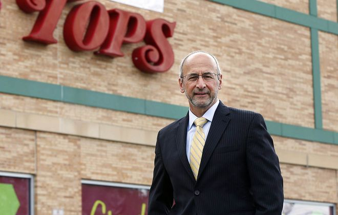 Frank Curci, chairman and CEO of Tops Markets, helped lead the copy to a successful conclusion of its bankruptcy filing. The company's survival is a benefit to Western New York. (Mark Mulville/News file photo)
