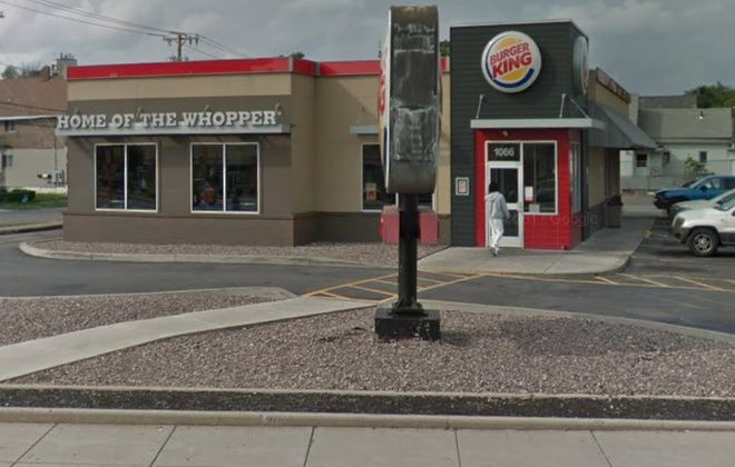 The Burger King on Broadway in Buffalo. (Google image)