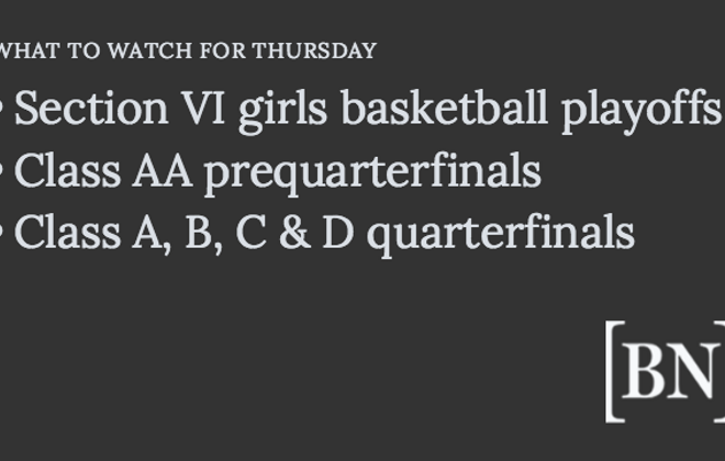 Homeroom Announcements: Thursday's big games & more