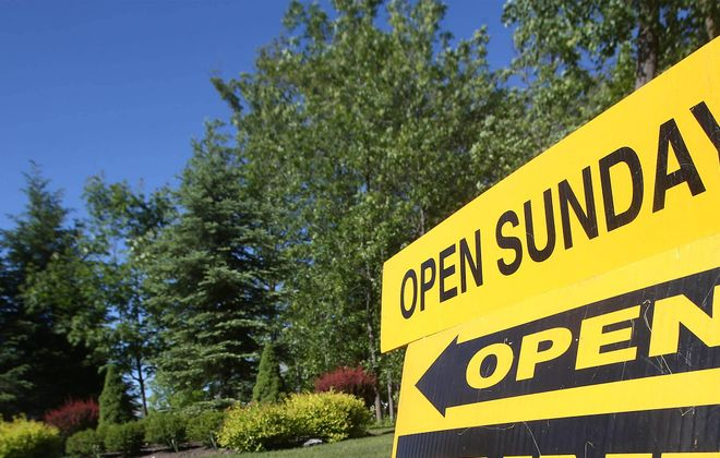Home sale prices hit a record high for January. (Robert Kirkham/News file photo)