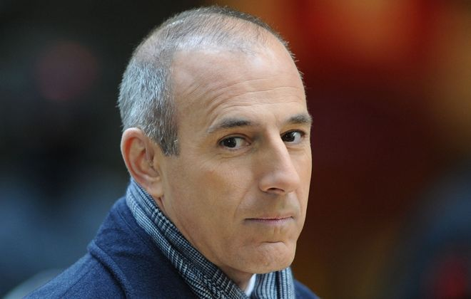 """Jeff Simon wants to know why Matt Lauer isn't """"behind bars -- or, at the very least, in the public sights of cops and prosecutors determined to put him there?"""" (Photo by Slaven Vlasic/Getty Images)"""