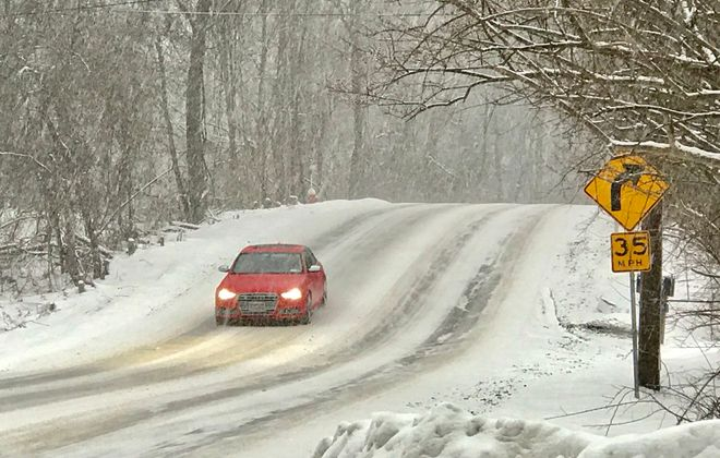 March will come in roaring and wet on Thursday. It's expected to turn white by Friday. (Robert Kirkham/News file photo)