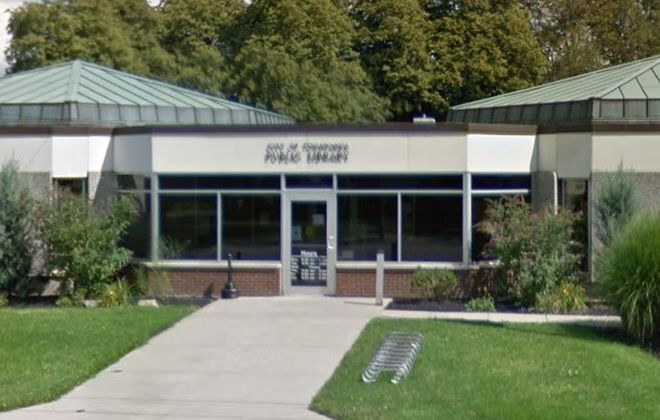 The City of Tonawanda Library will remain closed until electrical service can be restored. (Google image)
