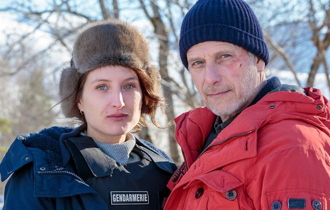 """Julia Piaton and Charles Berling are excellent in """"The Frozen Dead."""""""