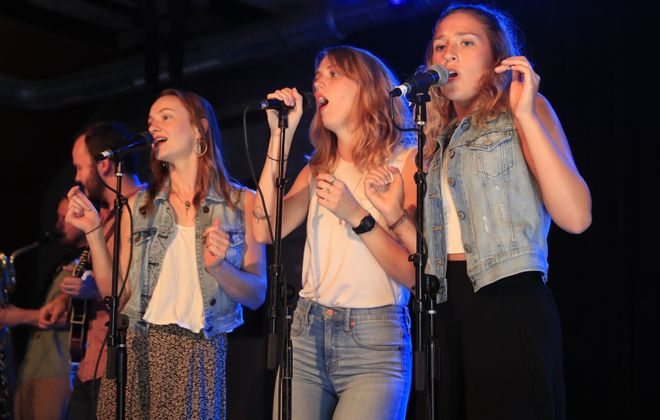 Upstate Rubdown, pictured performing at Cobblestone Live 2017, will play Live at Larkin July 18. (Harry Scull Jr./News file photo)