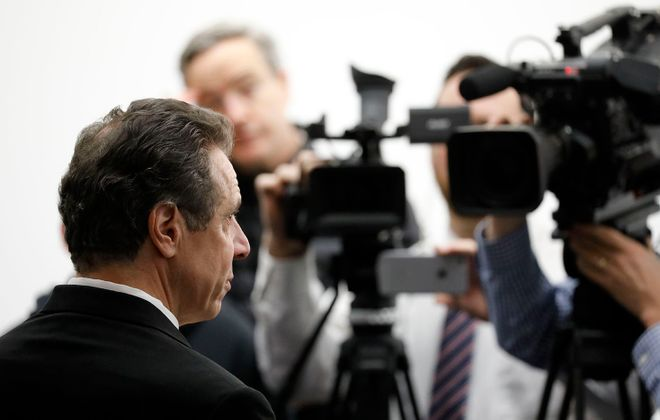Gov. Andrew M. Cuomo's critics are calling out his use of public funds and governor's office perks in the lead-up to November's election. (Derek Gee/News file photo)