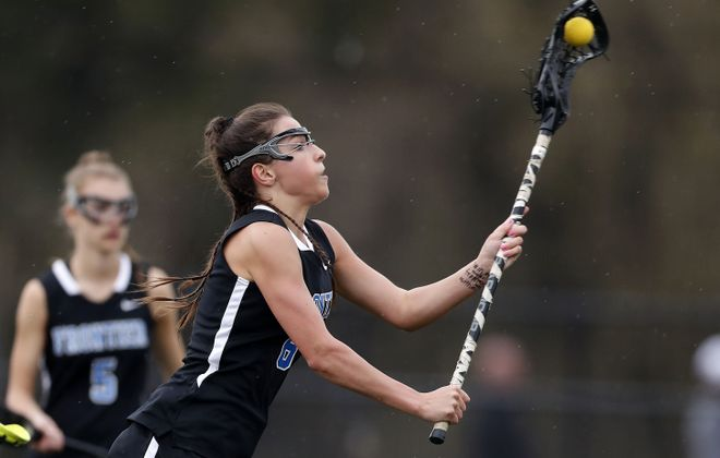 All-Western New York first-team pick Taylor Gehen led Frontier with 67 goals and 70 draw controls. (Mark Mulville/Buffalo News)
