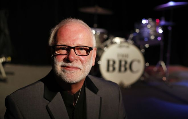 Gary Astridge, a drummer for the BBC Band, says he was sexually abused by the Rev. Edward Townsend, when he was a child.  After Bishop Edward B. Scharfenberger said in January that clergy abuse survivors could examine Buffalo Diocese files on their alleged abusers, Astridge left three messages with Scharfenberger's office seeking an appointment. Two months later, he has yet to receive a return call.(Mark Mulville/Buffalo News)