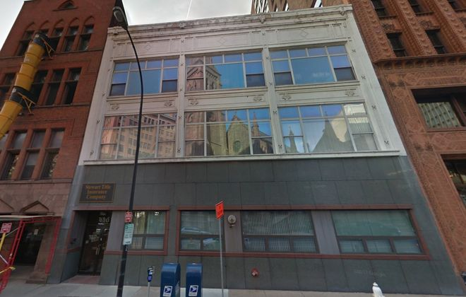 Stewart Title is launching a search for new office space in downtown Buffalo. Its current office on Pearl Street would be marketed for sale.