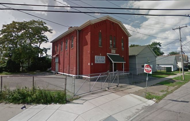 """This former public school on Military Road is being eyed for a new """"industrial artisan"""" business."""