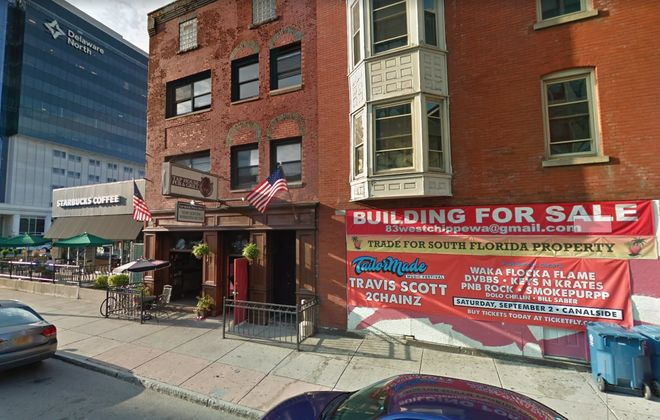 The building at 85 West Chippewa St., with the Tap House, has been purchased by a Florida investor.