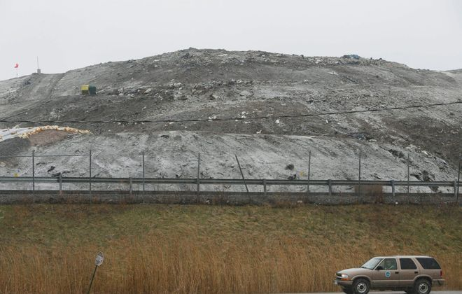 CWM Chemical Services is seeking to add a new hazardous waste landfill to the closed one, above, at its site on Balmer Road in Porter. (Derek Gee/News file photo)