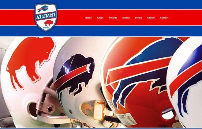 The Buffalo Bills Alumni Association logo in 2018.
