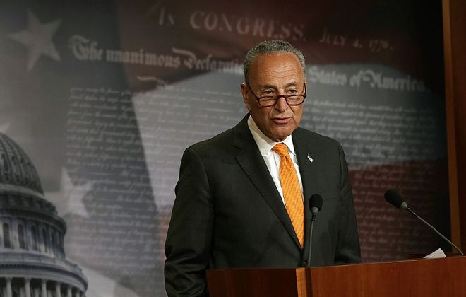 Senate Minority Leader Charles E. Schumer. (Getty Images)