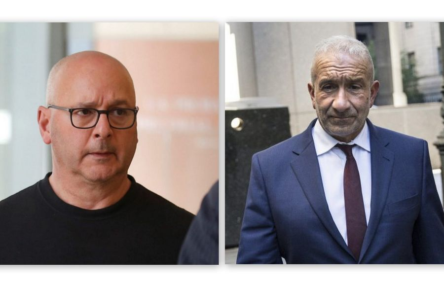 Louis P. Ciminelli, left, and Alain Kalayeros, were convicted in federal court on corruption charges related to the Buffalo Billion project. (Holly Pickett/New York Times and Buffalo News file photo)